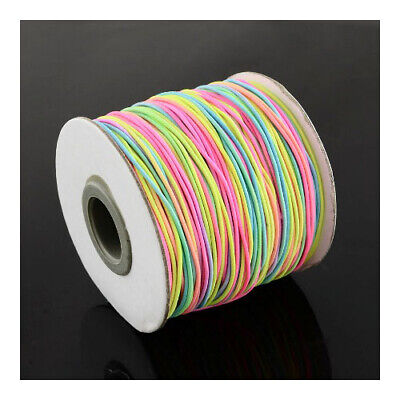 $ CDN5.83 • Buy Elastic String Cord Mixed-Colour 10M Continuous Length 1mm Thick