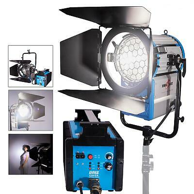 HMI Fresnel 1200W Compact Kit Daylight Continuous Lighting Dimmable Spot Flood • 854.99£