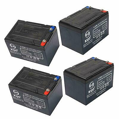 AU215.99 • Buy 4x 12V 14AH SLA Lead Acid Battery 6-DZM-12 Rechargeable For Eaton UPS NBN Alarm