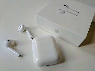 $ CDN169.99 • Buy Original Apple AirPods White MMEF2C/A With Charging Case,Cable In Original Box