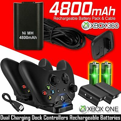 $10.89 • Buy Dual Charging Dock Station Controller Charger 2 Extra Battery Pack For Xbox One