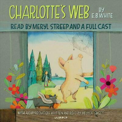£11.90 • Buy Charlotte's Web By E.B. White (English) Compact Disc Book Free Shipping!