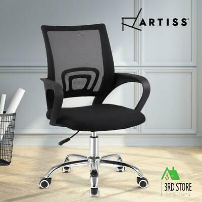 AU48.45 • Buy Artiss Office Chair Gaming Chair Computer Mesh Chairs Executive Mid Back Black