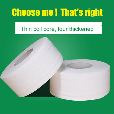 AU29.99 • Buy Big Roll Toilet Paper 4 Layers Thickened Household Toilet Paper Bathroom White
