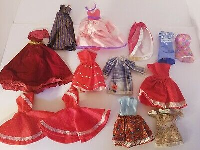 $ CDN49.60 • Buy LOT Of Vintage Barbie Clothes! Velvet Gown, Dresses And More!