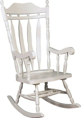 £292.75 • Buy Rocking Chair For Nursery Antique Home Rocker Wood Seat Armchair Room Furniture