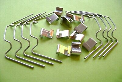 Greenhouse Clips Glazing Glass Glazing W & Z Glass Clips 5 - 100 Spring Wire • 4.50£
