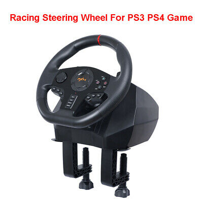 $147.26 • Buy Racing Game Steering Wheel Video Mobile PC Gamepad For PS4 Xbox One PS3 Switch