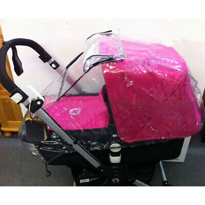 Raincover For Bugaboo, ICandy Apple Peach2 Strawberry Carrycot & Seat Rain Cover • 14.99£