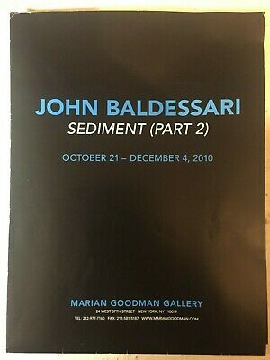 John Baldessari Poster - Sediment Part 2 • 44.92£