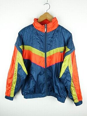 Vintage Shell Suit Jacket Track Retro Stag Festival Crazy Size Small* (E367) • 11.99£