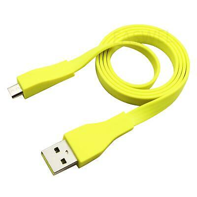 AU15.43 • Buy 2ft Micro USB Cable For Logitech UE BOOM Bluetooth Speaker Charger Yellow