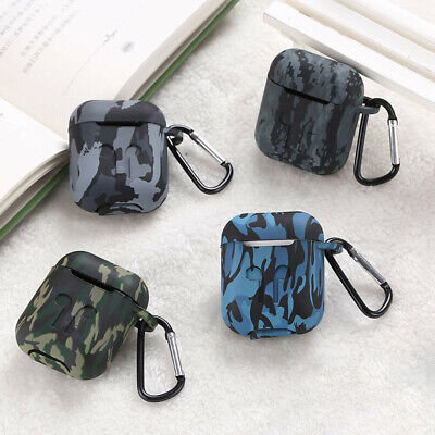 $ CDN5.75 • Buy 1pc Earphone Camouflage Case Silicone Protector Cover Skin Gift For AirPods NMJB