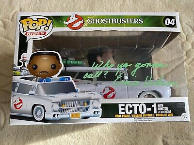 Funko Pop! Vinyl Ghostbusters Ecto 1 Signed By Ernie Hudson • 75£