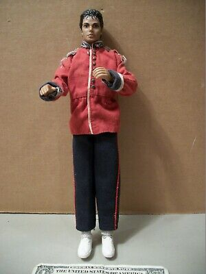 LJN Toys 12 In Michael Jackson Red Coat White Shoes 1984 Action Figure • 62.51£
