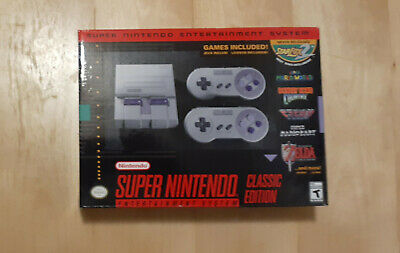 $ CDN211.52 • Buy Super Nintendo Entertainment System SNES Classic Edition