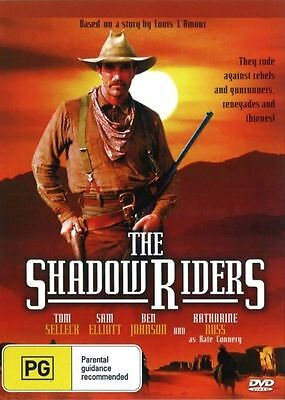 The Shadow Riders - Tom Selleck - New & Sealed Dvd Free Local Post • 5.43£