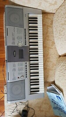 AU105 • Buy Yamaha Keyboard  PSR-295  Portable  With Charger And Music Books