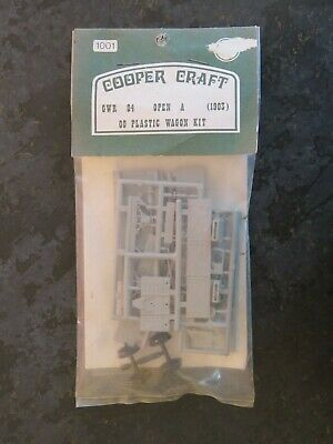 COOPERCRAFT 1001 GWR OPEN WAGON KIT O4 OPEN A (1 Of 5) • 12.50£