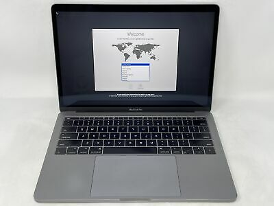 $739.99 • Buy MacBook Pro 13 Space Gray 2017 2.3GHz I5 8GB 256GB SSD Good Condition