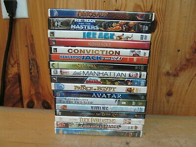 $ CDN28.19 • Buy Lot Of Family DVDs 17 Movies Dinosaur Ice Age Spiderwick Avatar Mama Mia!