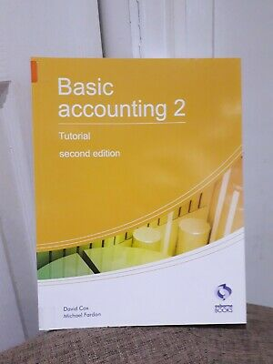 Basic Accounting 2 Tutorial: 2 (AAT Accounting By Fardon, Michael (Like New) • 10£