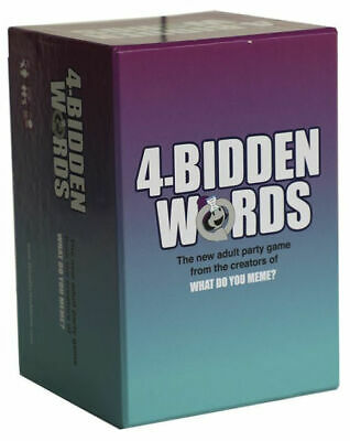 AU28.72 • Buy 4-Bidden Words By  What Do You Meme?  Game