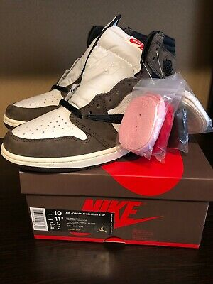 $1200 • Buy Jordan 1 Travis Scott High Size 10