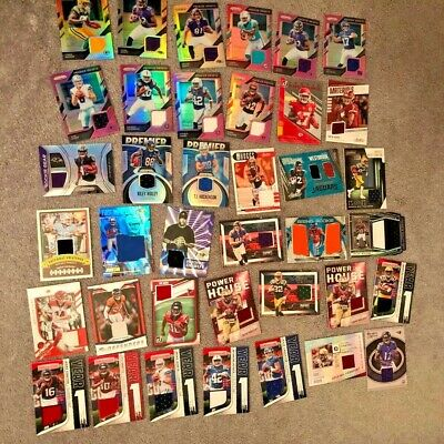 $9.99 • Buy NFL  5 Hits Autograph & Jersey, Plus Rookies & Superstars, Lot Of 25 Cards