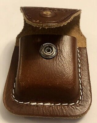 $5.99 • Buy Pre Owned Zippo Lighter Leather Pouch