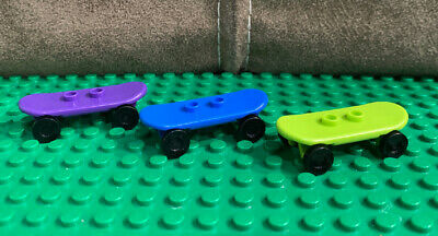 Genuine Lego Minifigure Skate Board City / Creator X 3 • 1.99£