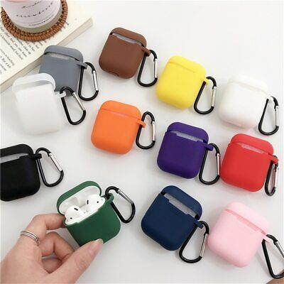 $ CDN4.94 • Buy Strap Holder & Silicone Case Cover For Apple AirPod Air Pod Accessories AirPods
