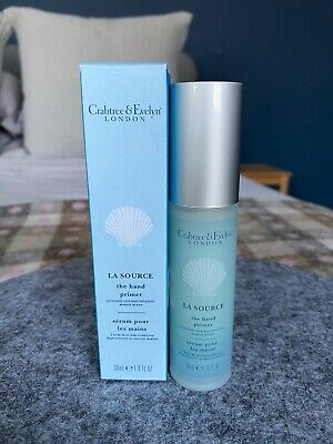 Crabtree & Evelyn La Source Hand Primer 30 Ml Protection Serum New With Box • 10.95£