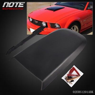 $26.41 • Buy Front Racing Style Air Vent Hood Scoop For 2005-2009 Ford Mustang GT V8