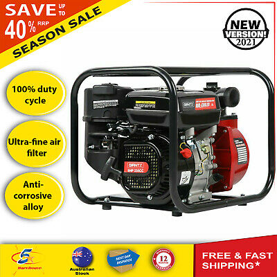 AU203.57 • Buy Fire Fighting Water Transfer Pump Firefighter High Fighter Petrol Irrigation 8hp