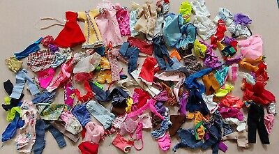$ CDN5.50 • Buy Lot Of Vintage Barbie Doll Clothes 100+