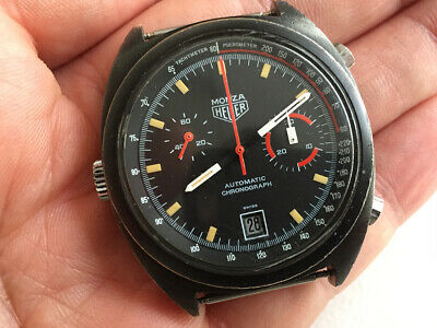 $ CDN2185.89 • Buy HEUER MONZA Vintage Chronograph Watch  CAL. 15 - PVD