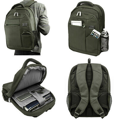$ CDN43.51 • Buy Men Canvas Hiking Backpack Laptop Bag For 15.6  Dell Inspiron 15 / ALIENWARE 15