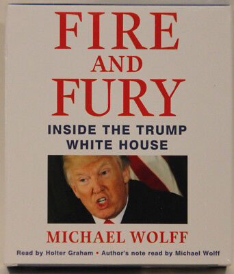 AU30.73 • Buy Fire And Fury Inside The Trump White House 10 Audio CD's Read By Holter Graham