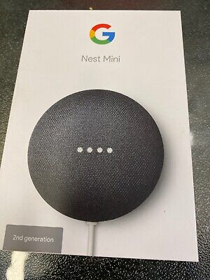 AU50 • Buy Google Nest Mini (2nd Generation) Smart Speaker - Charcoal ##221035