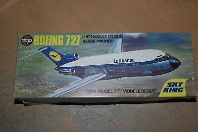 Airfix 1:144 Boeing 727 Lufthansa  Box And Instruction Only   Spares  • 9.99£