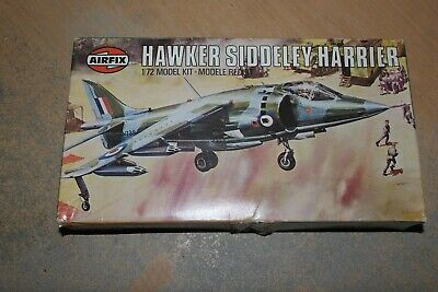 Airfix 1:72 Hawker Siddeley Harrier  Box And Instruction Only   Spares  • 6.99£