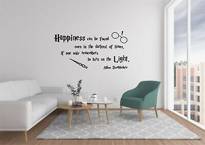 £11.95 • Buy Harry Potter Vinyl Wall Decals Quote Home Decor Bedroom  Wall Stickers FREE POST