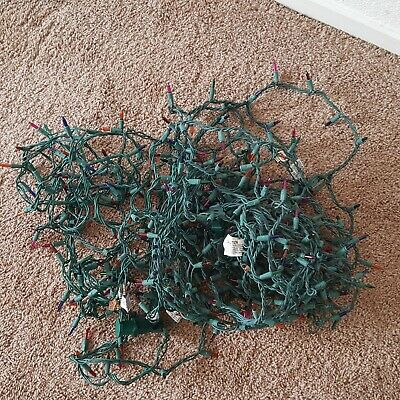 $9.99 • Buy Decorative Lighting String Indoor Outdoor Christmas Lights Colored Light Lot 4