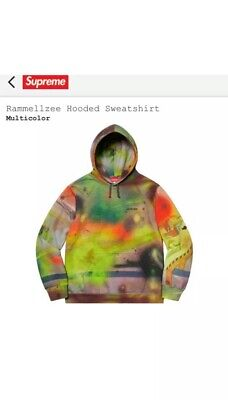 $ CDN327.47 • Buy Supreme Rammellzee Hooded Sweatshirt Size Small Hoodie