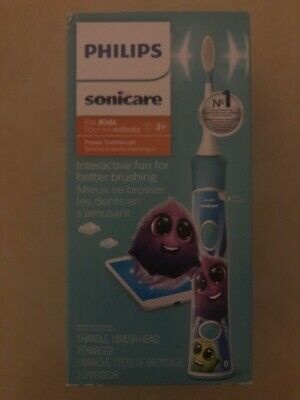 AU64.52 • Buy Philips Sonicare For Kids Rechargeable Electric Toothbrush, Blue HX6321/02