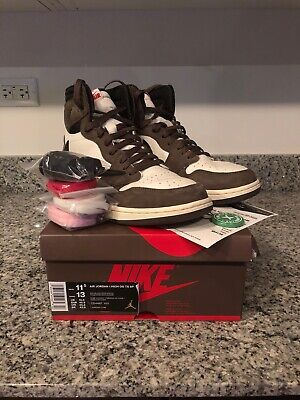 $785 • Buy Air Jordan 1 Travis Scott, Size 11.5, Pre-owned, QS, 2019, OG, Collab, High