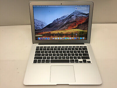 $409 • Buy Laptop Apple Macbook Air A1466 2015 13.3  Core I5 1.6GHz 4GB 256GB SSD OSX 10.13