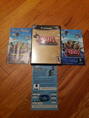 $50 • Buy The Legend Of Zelda: The Wind Waker Nintendo Gamecube Complete With Manuals