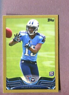 $0.99 • Buy 2013 Topps Mini Gold #248 Justin Hunter RC 56/58 Tennessee Titans O3360